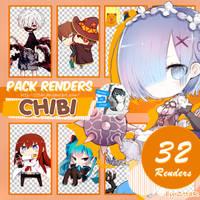Pack Renders #6 CHIBI by ZttaR