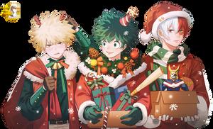 Render Christmas - Boku no Hero Academia