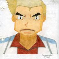 Professor Oak Portrait by VeronicaIsabel