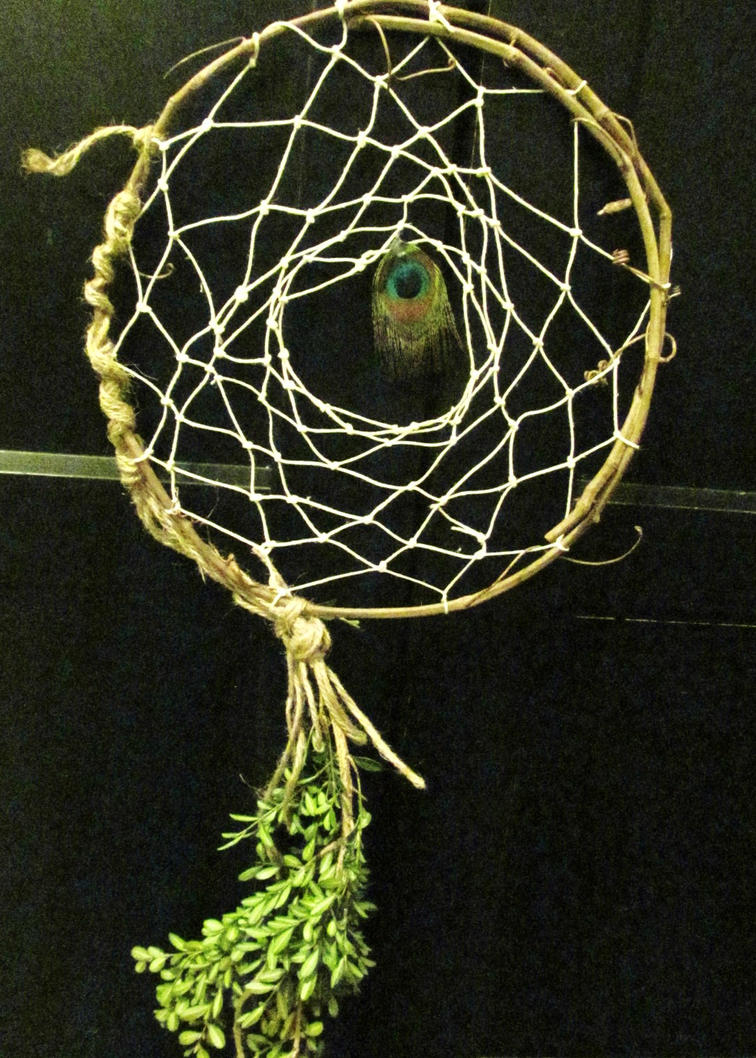 this was my first traditional dream catcher wave by conceptual-creature