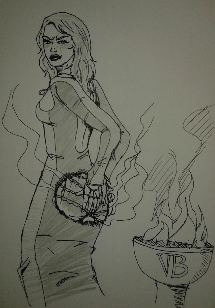 Draw-It Post-It - Vaste Butin by TheShockermaniac