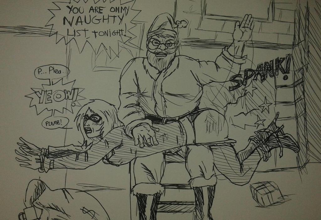 Draw-It Post-It - Merry Christmas 2014 by TheShockermaniac