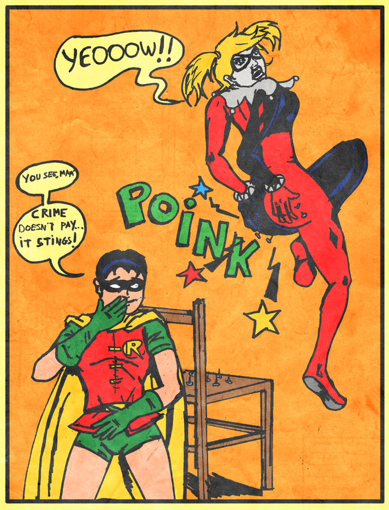 Harley Quinn - Membergreen Request by TheShockermaniac