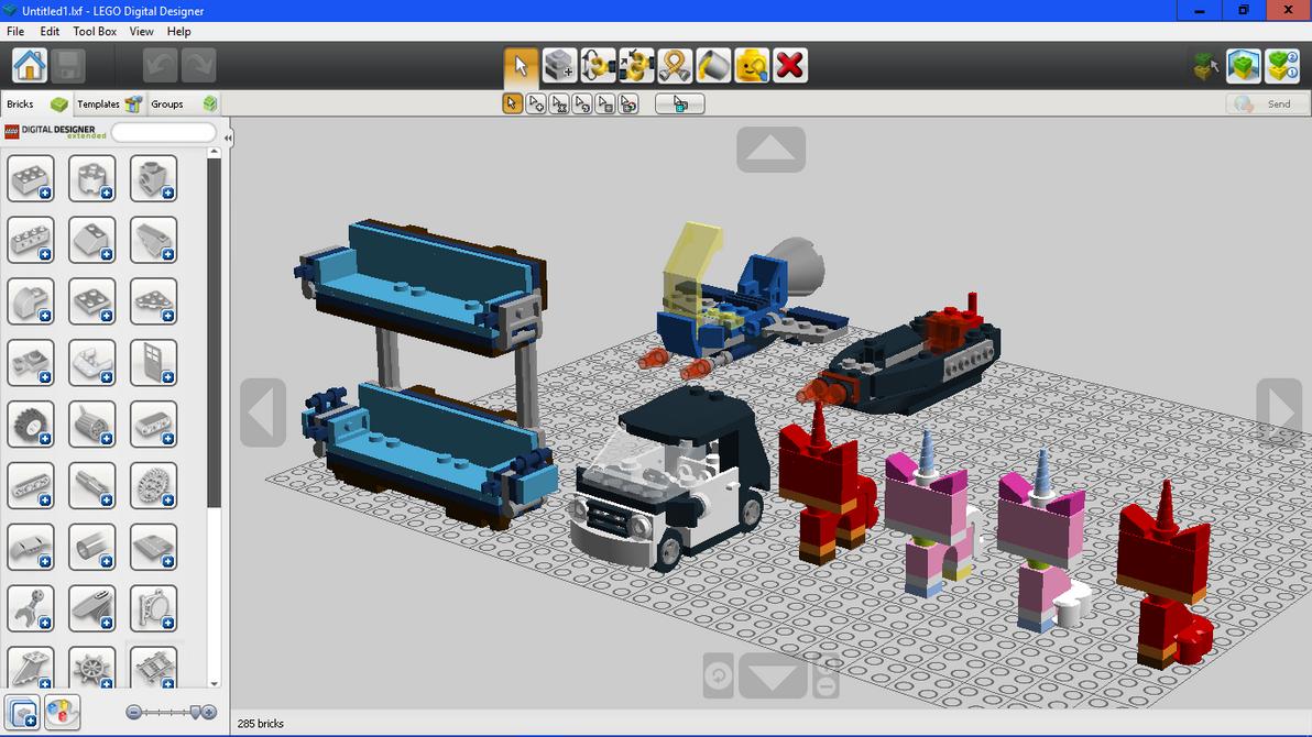 lego digital designer 4.2 how to buy model