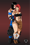 Commission 25: Octavius and Amelia