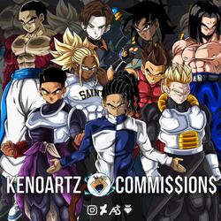 KenoArtz Commissions: Boyz by KingKenoArtz