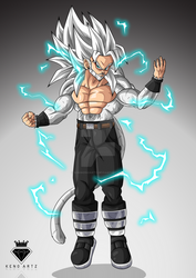 Commission 75: Alfonso ''ssj5'' by KingKenoArtz