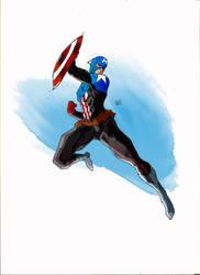 Captain America from Fear Itself (Bucky)