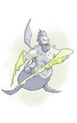 Warrior Merman Concept