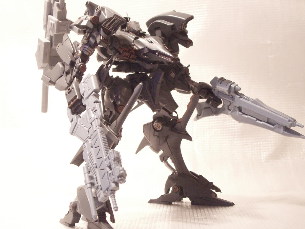 03 AALIYAH Armored Core 4 By RtotheYO