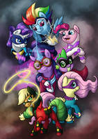 Power Ponies by 0Riane0