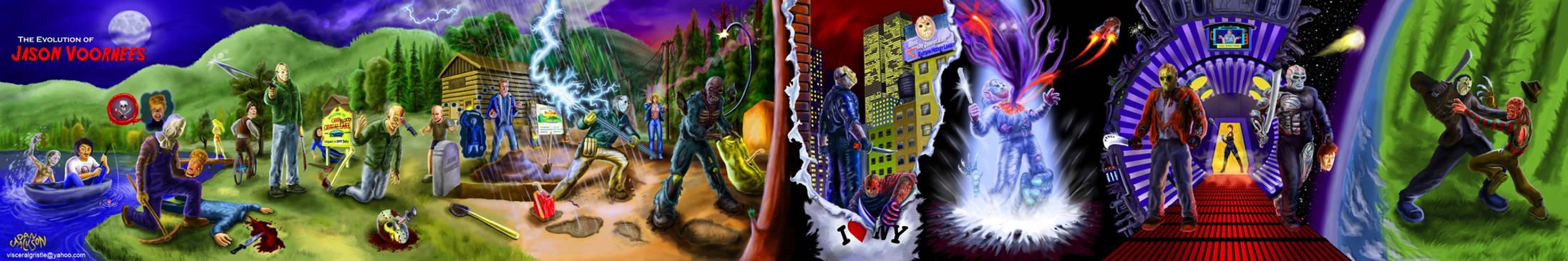 Evolution of Jason Voorhees