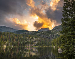 Evening on Bear Lake by Lexfocus