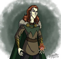 Myth Loki by cardinalbiggles