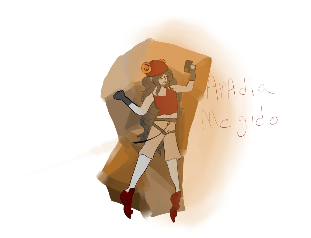 Rock Climber aradia by lisianthus-rose