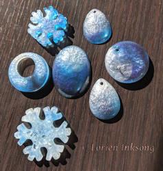 Blue Blends Mini Batch by LorienInksong