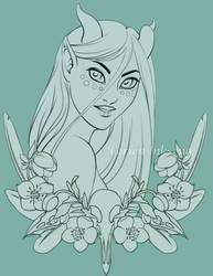 Hellebore Inks by LorienInksong