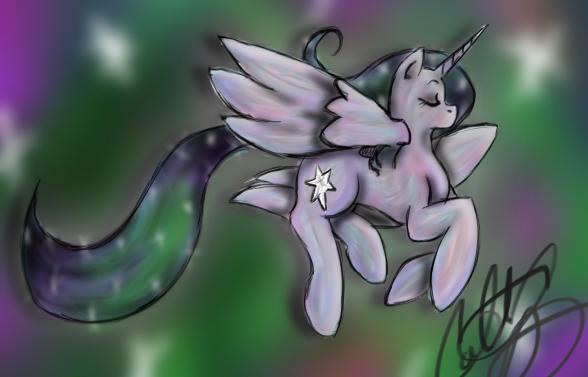 Alicorn by TheyCallMeRoxas