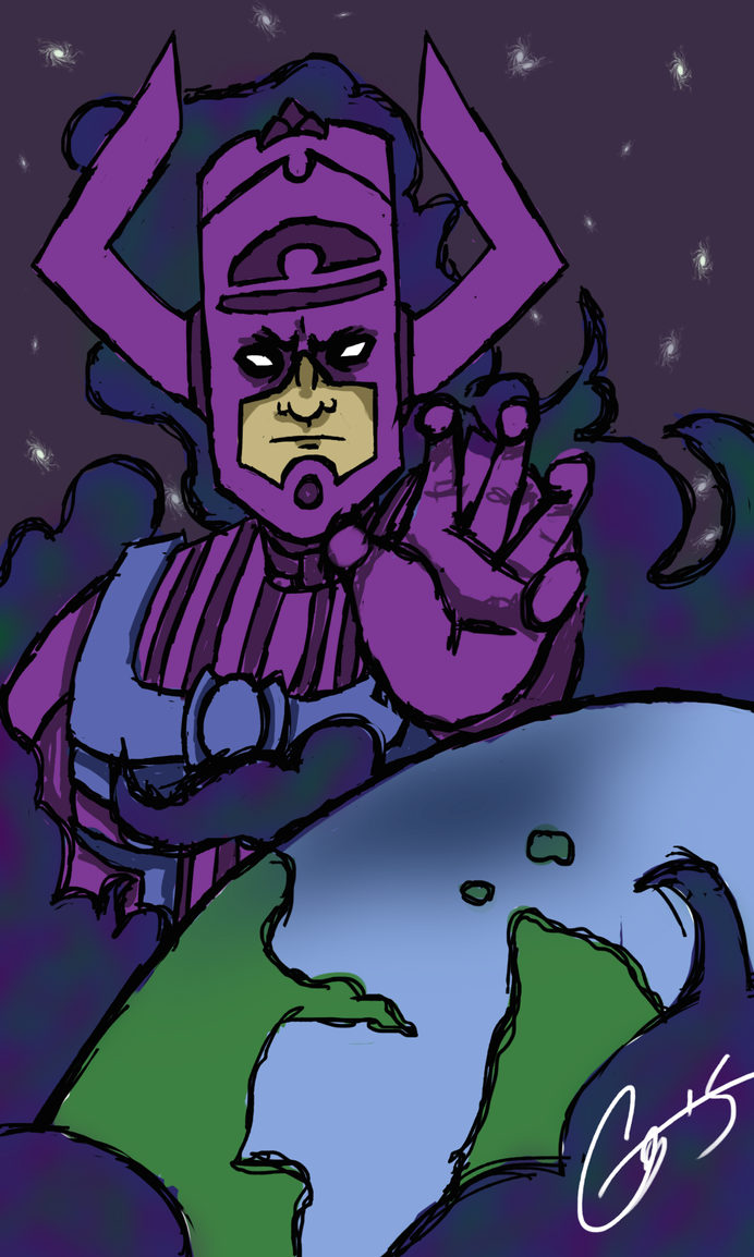 Galactus by TheyCallMeRoxas