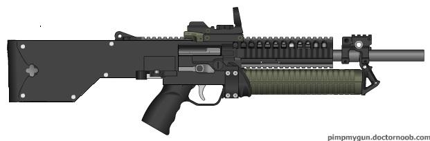 Pimp my gun : M1216 by LenRilly95 on deviantART M1216