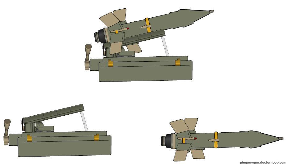 K 11 Gun Pimp my gun  9K11 Malyutka