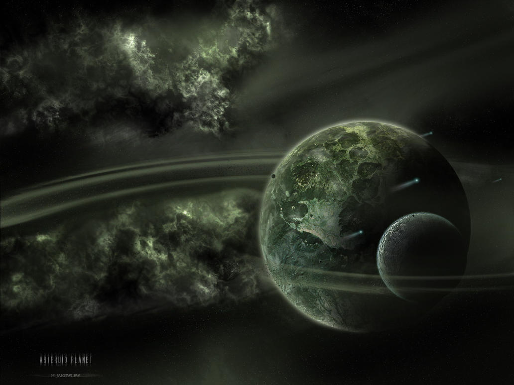 Asteroid Planet by ArtOfKings on DeviantArt