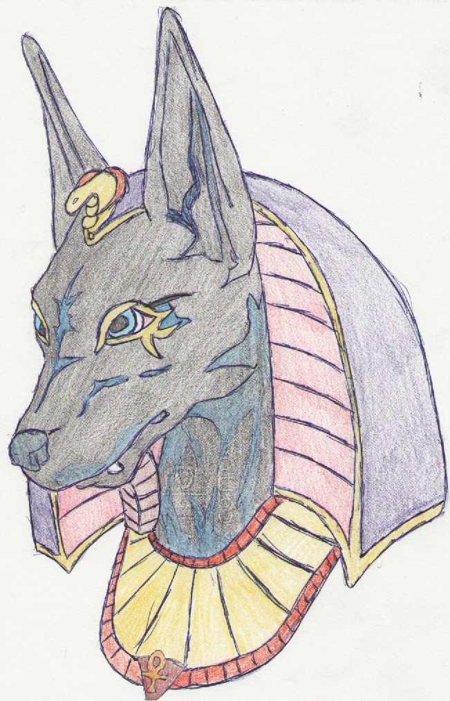 How to Draw Anubis, Step by Step, Fantasy Characters ...