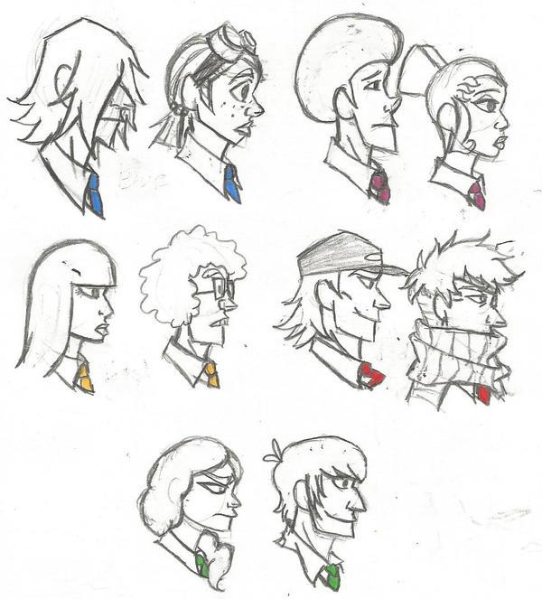 The Teams by StrawberryBudikai