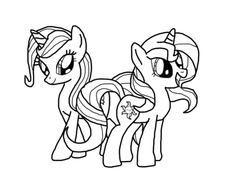 My Little Pony Starlight Glimmer Coloring Pages : Trixie slugterra coloring pages