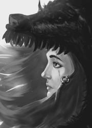 Savage portrait by byoxx