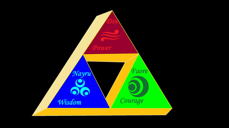 Triforce by Shane-Twilight