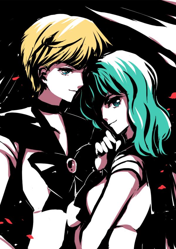 Uranus and Neptune by kururuno
