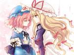Yuyuko and Yukari