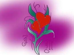 heart tattoo by finky53