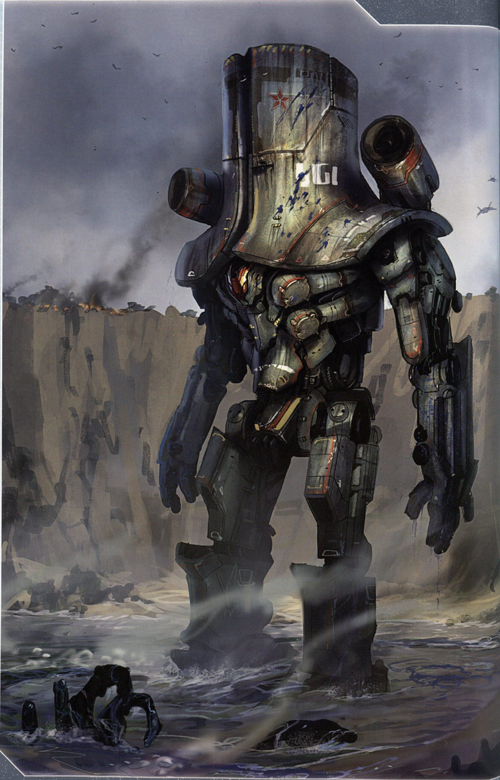 Cherno Alpa by derickramzess on DeviantArt Pacific Rim Concept Art Pilot
