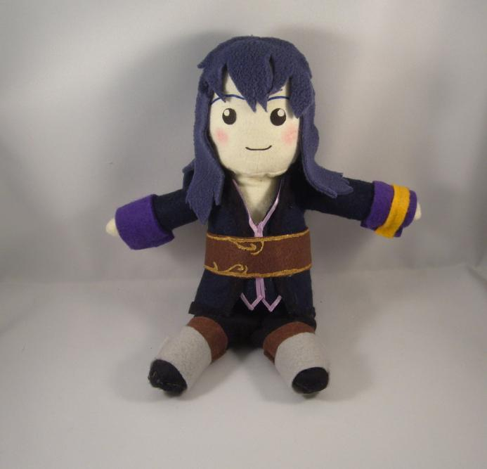 Tales of Vesperia Yuri plush by pandari