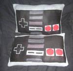 Nintendo NES controller pillow