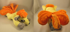 Pokemon Shiney vulpix plush