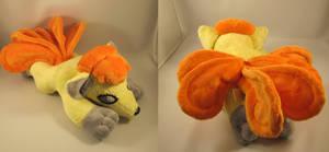 Pokemon Shiney vulpix plush