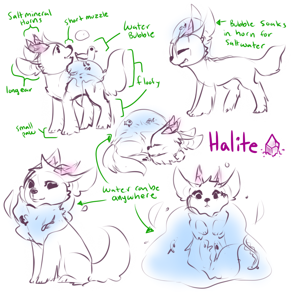 Halite - Open species by Mousu