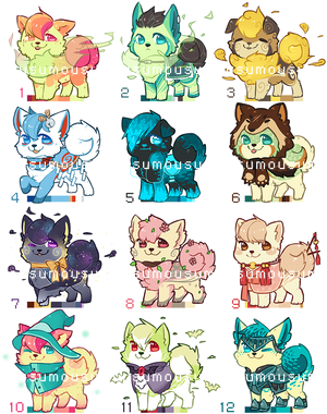 Offer to Adopt Pompoms - closed by Mousu