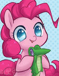 Pinkie Pie and Gummy