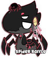 Spider Raffle - Closed by Mousu