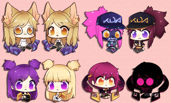 League of Legends - KDA group by Mousu