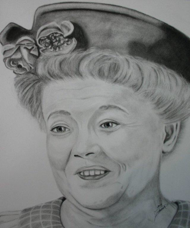 Frances bavier aunt bee by peacockgurl on deviantart frances bavier aunt bee by peacockgurl altavistaventures Choice Image