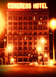 Congress Hotel- Chicago (ReTouch) by Kadarr