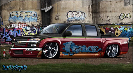 chevy pickup low rider