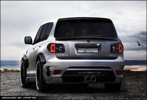 Nissan Patrol Lumma Design