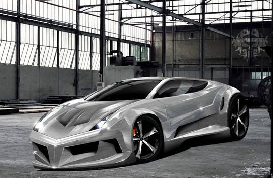 sliver beam - concept car