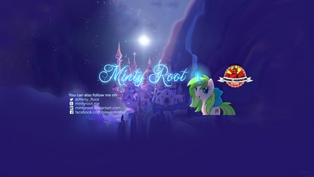 September 2016 YouTube banner by MintyRoot
